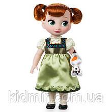 Лялька Ганна Холодне серце Дісней Аніматори/ Anna Frozen Disney Animators