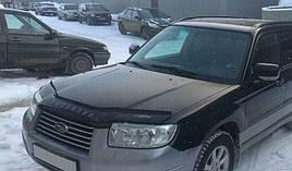 Дефлектор капота, мухобойка Subaru Forester с  2005-2008 г.в VIP