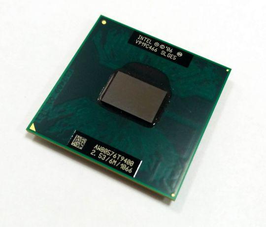 Процессор Intel Core 2 Duo T9400 6 МБ кэш-памяти, тактовая частота 2,53 ГГц, частота системной шины 1066 МГц