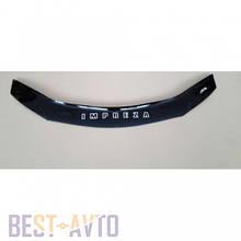 Дефлектор капота, мухобойка Subaru Impreza с 2007 VIP