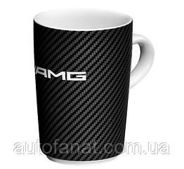 Оригинальная кружка Mercedes-Benz AMG Mug, White/Black (B66953358)