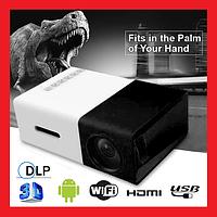 Мини проектор портативный мультимедийный Led Projector YG300, фото 1
