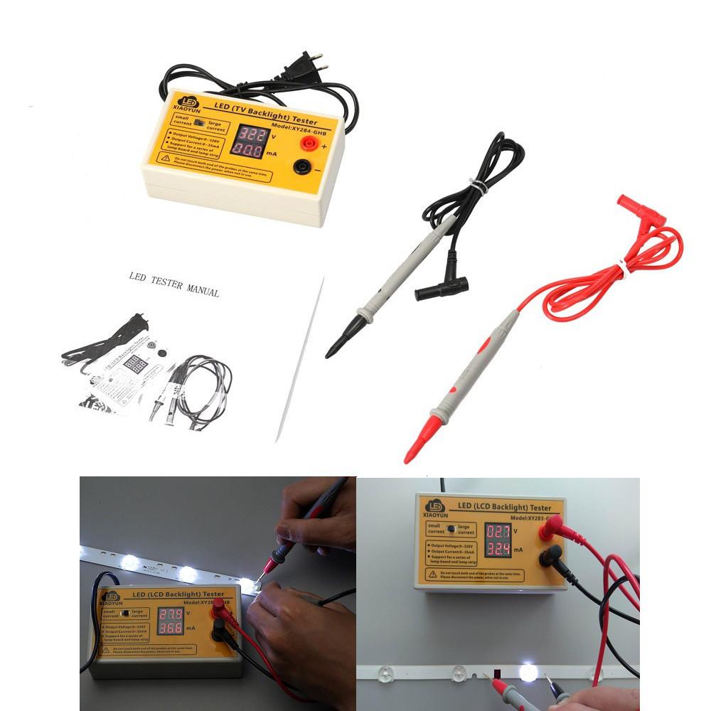 XIAOYUN XY283 тестер для светодиодов, LED-ламп, LED-лент, подсветки ТВ