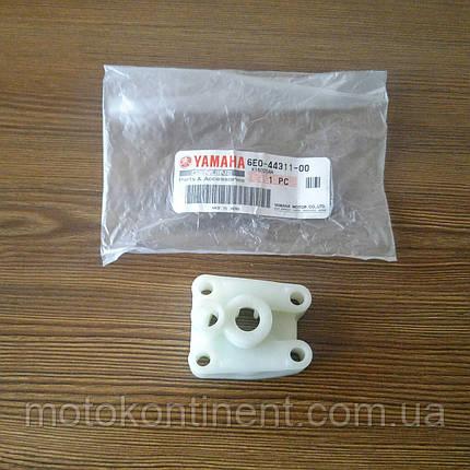 6E0-44311-00/ PAF4-03000019 Корпус водяного насоса Yamaha/Parsun 4/5/F4, фото 2