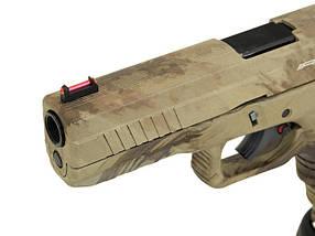 Пистолет ACP601 CO2 BLOW BACK PISTOL – AT-AU [APS] (для страйкбола), фото 3