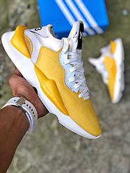 Мужские кроссовки Adidas Yohji Yamamoto Y-3 Kaiwa Yellow (Топ реплика ААА+)  купить в интернет-магазине Siwer - цена 9a6ebc197d4b7