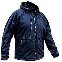 "Куртка SoftShell ""DIVISION"" DARK BLUE (МЧС), фото 1"