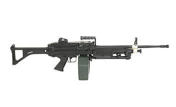Пулемет М249 МК1 – BLACK [A&K] (для страйкбола), фото 2