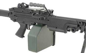 Пулемет М249 МК1 – BLACK [A&K] (для страйкбола), фото 3