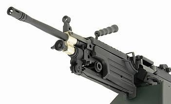 Пулемёт М249 MK II – BLACK [A&K] (для страйкбола), фото 3