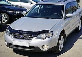 Дефлектор капота, мухобойка Subaru Legacy IV/Outback III с 2003-2009 г.в. VIP
