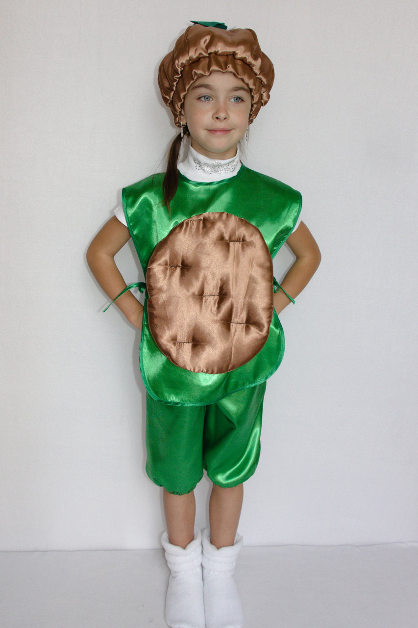 Детский маскарадный костюм Картошка для девочки 3-6 лет
