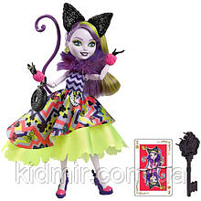 Лялька Ever After High Кітті Чешир (Kitty Cheshire) з серії Way Too Wonderland Школа Довго і Щасливо