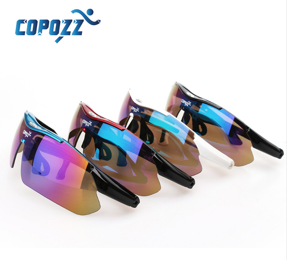 Очки для велоспорта  Copozz gog-1030 - 3 сменные линзы