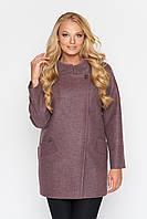 Женское демисезонное полу пальто, с 44-54 размер, фото 1