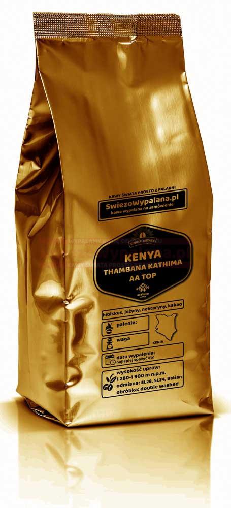 Кофе свежеобжаренный Арабика Кения AA, 250г