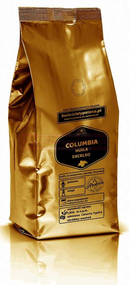 Кофе свежеобжаренный Арабика Колумбия Supremo, 250г