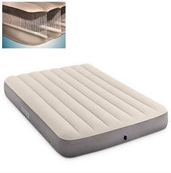 Матрас intex для плавания светло-серый Матрас интекс надувной Товары для летнего отдыха
