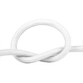 Потолочный провод в тканевой оплетке белый, фото 2