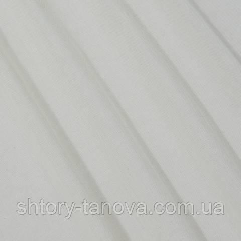 Тюль батист, однотонный топлёное молоко
