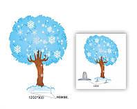 """Декорация  дерево """"Дуб зимний"""""""