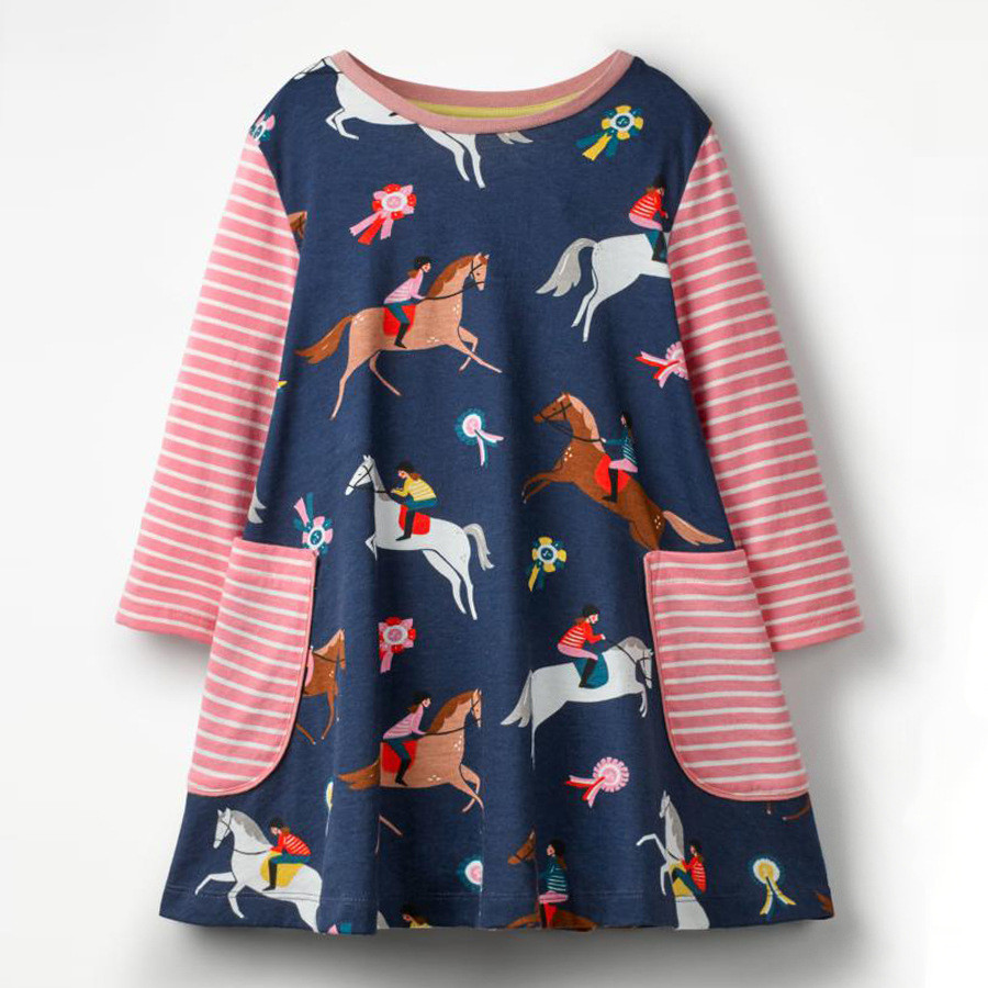 Платье для девочки Скачки Jumping Meters