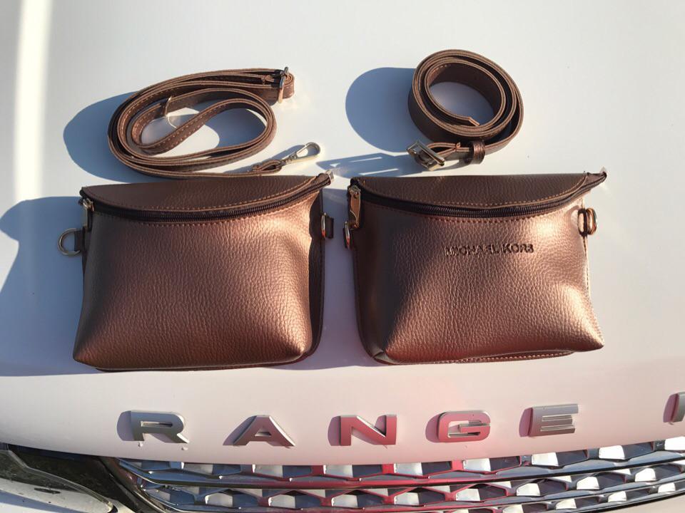 Стильные сумки на пояс женские