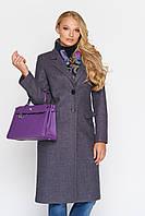 Пальто женское прямого кроя, с 42-52 размер, фото 1