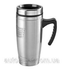Оригинальная термокружка Mercedes-Benz Thermo Mug, Grille Actros, Silver (B67870654)