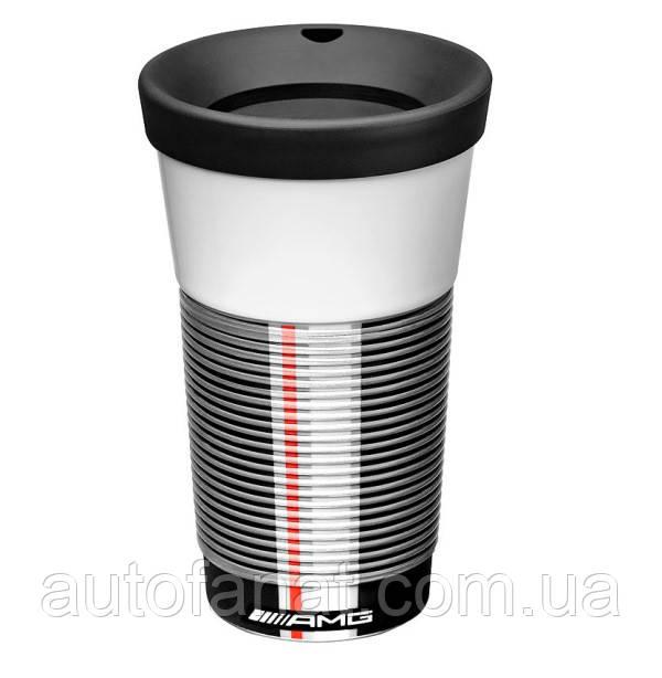 Оригинальная термокружка Mercedes-Benz Coffee2Go Cup, AMG, White (B66953320)