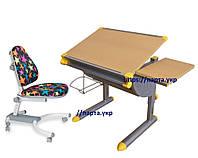 Детский Стол - парта KD-1122 и Кресло Comf-Pro K-639, разные цвета, фото 1