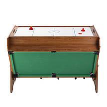 """Игровой стол """"Vortex 3-в-1"""" - мини бильярд, настольный футбол, аэрохоккей, фото 3"""