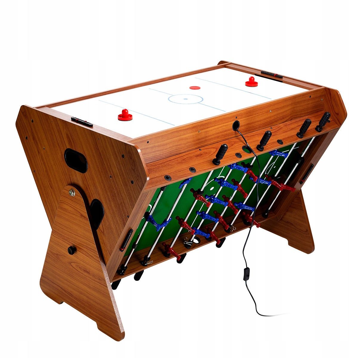 """Игровой стол """"Vortex 3-в-1"""" - мини бильярд, настольный футбол, аэрохоккей"""