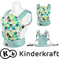 Эргономичный носитель для младенцев до 20 кг Kinderkraft NINO