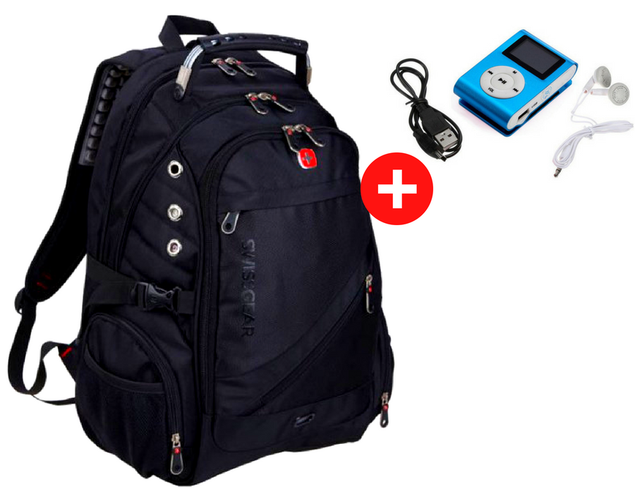 Рюкзак SWISSGEAR. Городской рюкзак + дождевик