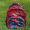 Детский школьный рюкзак ортопедический 3D Человек Паук (Spider man)