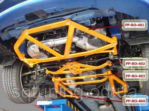 Передняя нижняя распорка стаканов Set Impreza WRX STI Roolbar Rally Pro