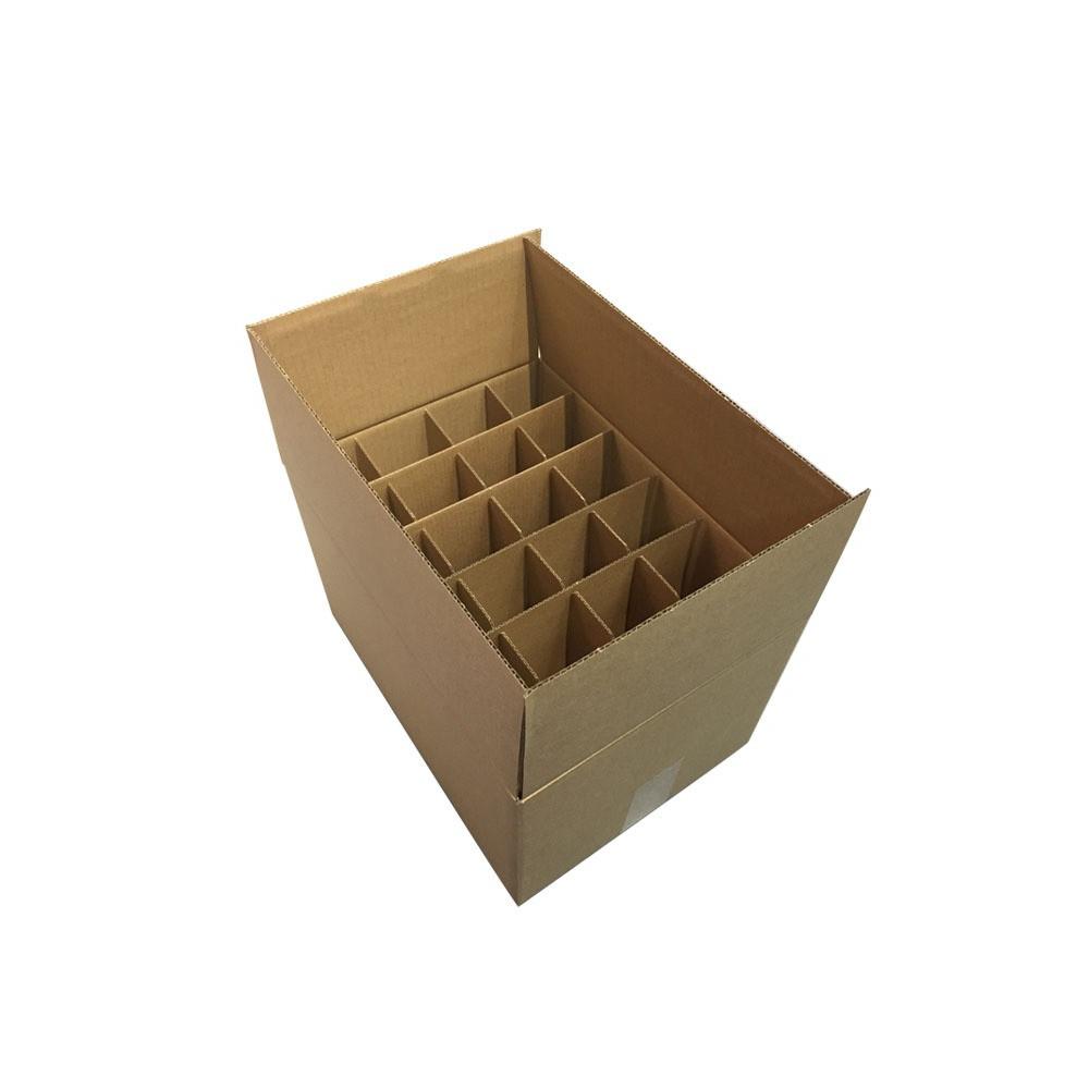 Картонная коробка для бутылок - под заказ