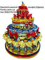 """Угощение для детского дня рождения  из сладостей на 34 ребенка""""Арлекино"""""""
