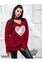 Ангора свитер женский, фото 3