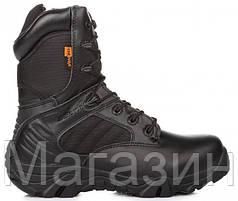 Армейские берцы Delta Tactical Boots Black (Дельта) черные