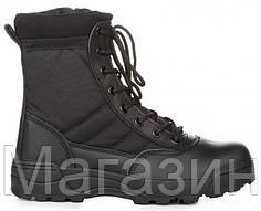 "Армейские берцы Original S.W.A.T. Men's Classic 9"" Comp Toe Side Zip Work Boot черные"