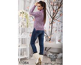 Женский свитер крупной вязки, фото 2