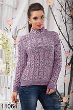 Женский свитер крупной вязки, фото 3