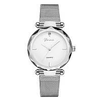 Женские часы Geneva Shine silver white, Жіночий наручний годиннк, наручные часы Женева, фото 1