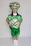 Карнавальный костюм для девочки Капуста 3-6 лет