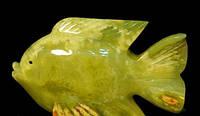 Рыба из  оникса камня