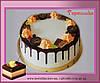 Торт в шоколаде с конфетами