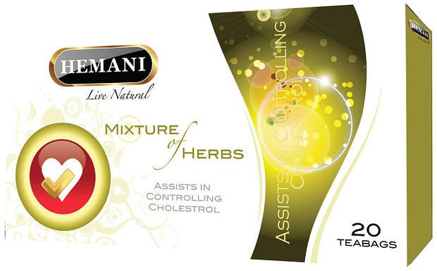 Чай для контроля холестерина Hemani 20 пак.
