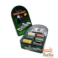 Набор для покера на 120 фишек с номиналом